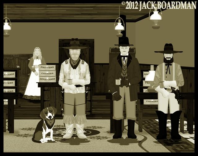 Boomer Jack interrupted Erik & McLintock ©2012 Jack Boardman