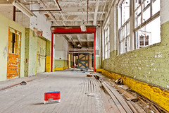 Abandoned Barber-Colman / Reed-Chatwood factory in Rockford, Illinois