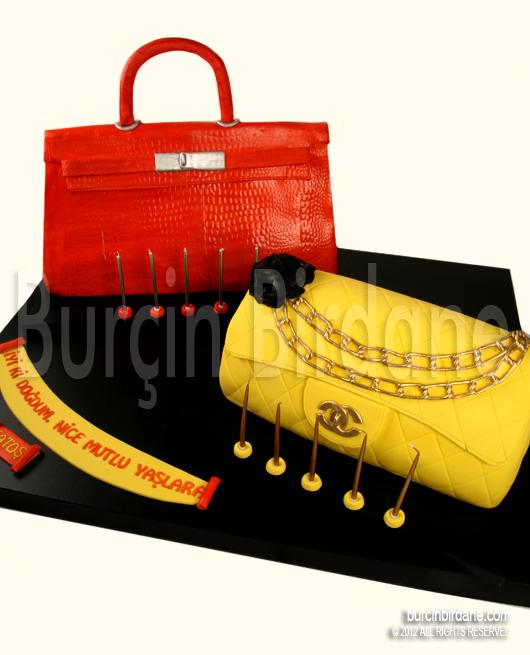 Hermes ve Chanel Çanta Pasta