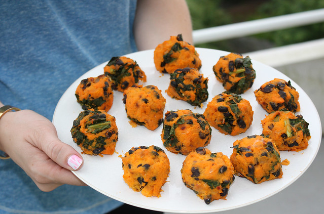 Sweet Potato & Kale Balls