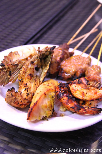 Grilled Seafood, The Village, Pullman Putrajaya Lakeside