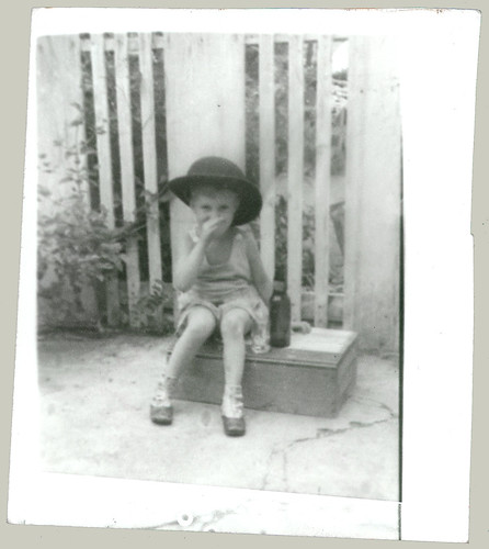 Child and hat