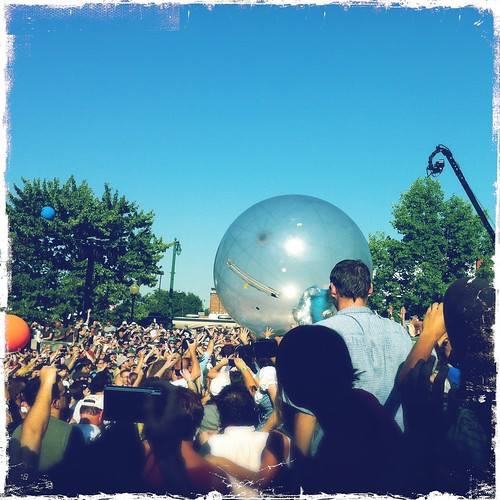 Flaming Lips, Handy Park,  Memphis, Tenn.