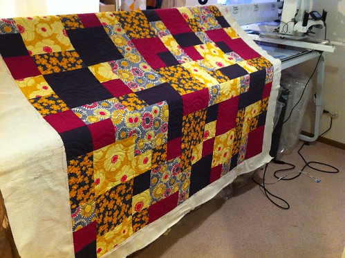 AccuQuilt Studio Take 40 Quilt Finished And A Video LoveBug Studios Impressive Take 5 Quilt Pattern
