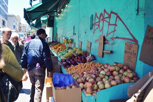 Fresh Produce in Chinatown ~ San Francisco, CA