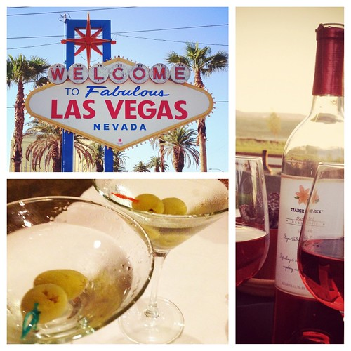 Vegas, 14th Anniversary Martinis, and Return- Home Wine- Instagram Review