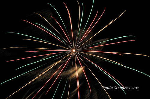 Fireworks by Paula Stephens