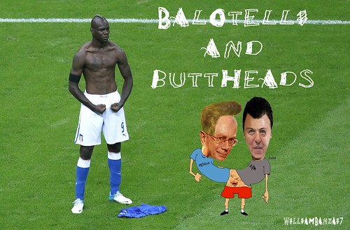 BALOTELLI AND BUTTHEADS by Colonel Flick