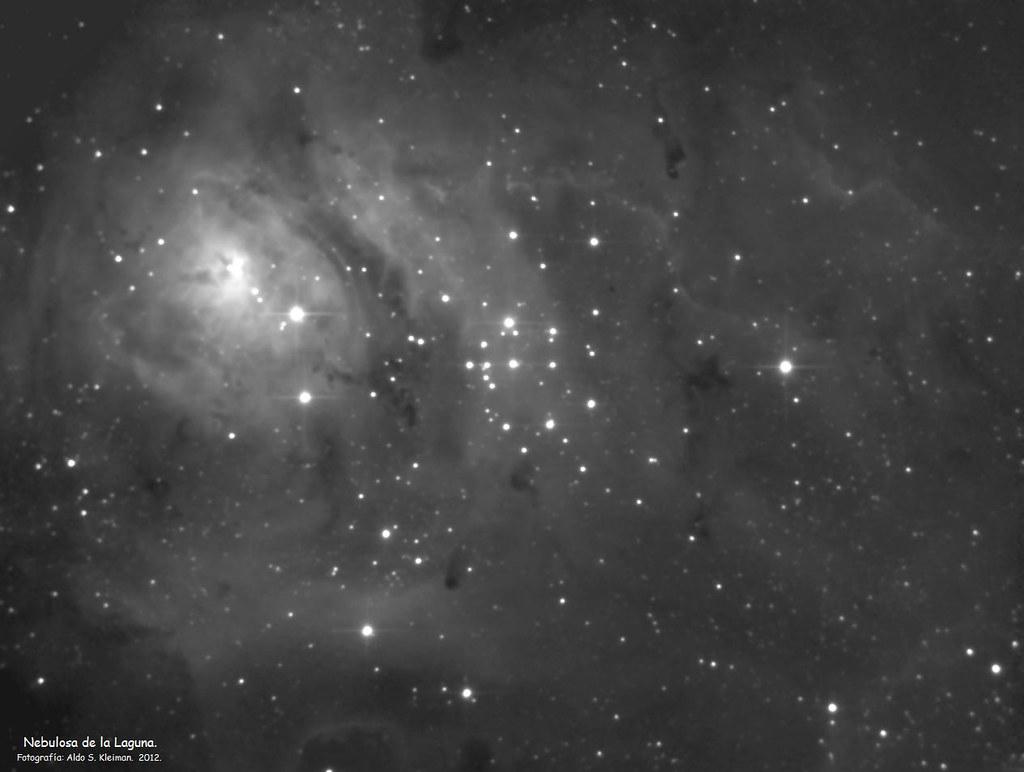 Nebulosa de la Laguna Bis
