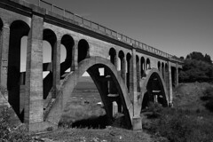 ABANDONED MILW ARCH BRIDGE, ROSALIA, WA 2012 (CREEK BRIDGE)