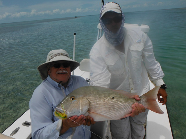 Snapper in Cayo Largo Caddis Fly Angling Shop Trip