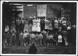 Nearly the entire force, Yoona Mills. Some of the smallest workers not in photo, May 1911