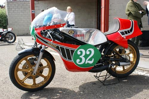 Yamaha TZ250, ex-Steve Baker