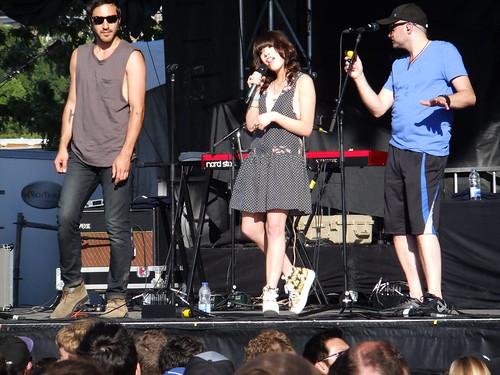 Carley Rae Jepsen at Ottawa Bluesfest 2012