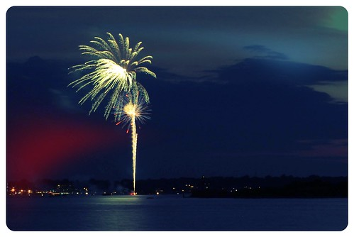 Jamestown Fireworks by leith70