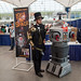 Steampunk Abraham Lincoln Vampire Hunter and Lost In Space Robot