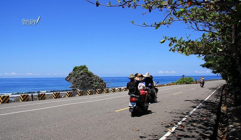 厚石裙礁旁的環島公路