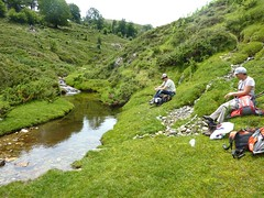 Traversée Croce-Frauletu : pause-déjeuner aux pozzi du ruisseau de Teppa Ritonda