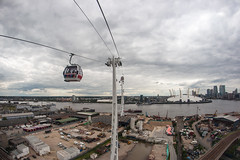 The Dangleway, Emirates Air Line London in flight