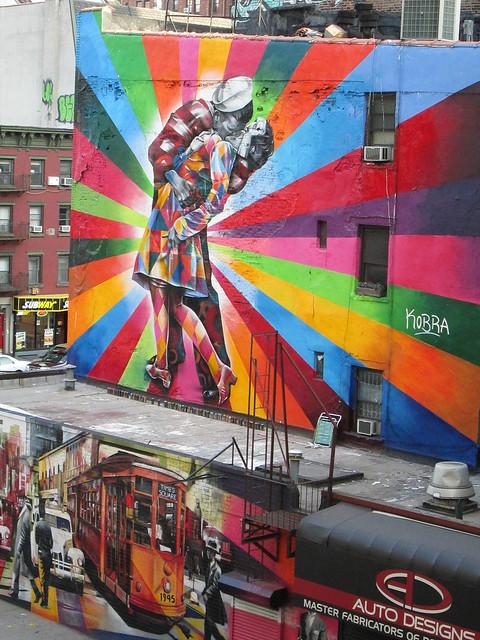 Desde el High Line, NYC. Nueva York, Jul2012