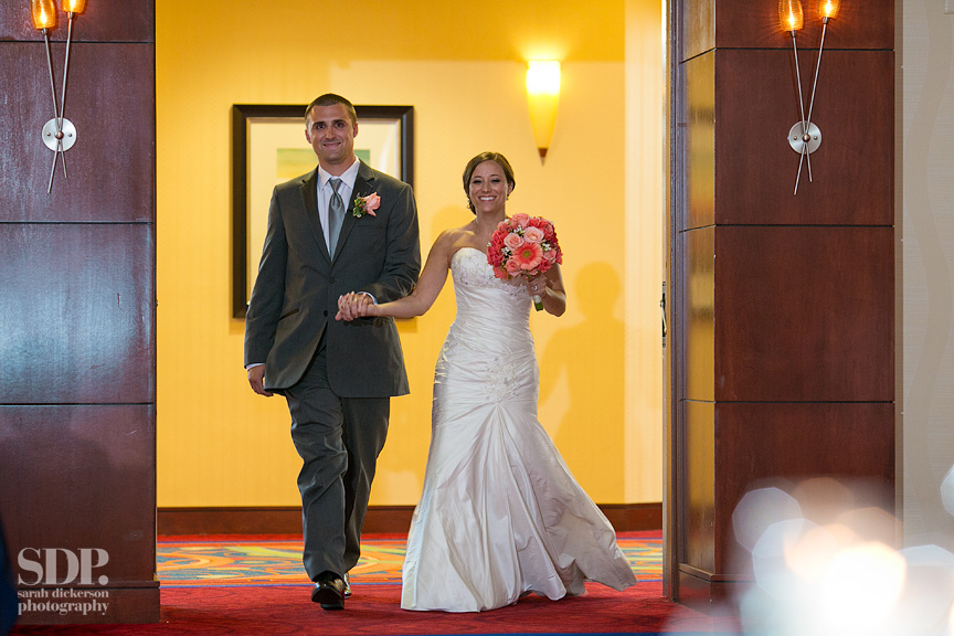 Overland Park Marriott wedding reception