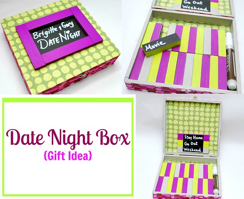 Date Night Box Bridal Shower Gift Idea