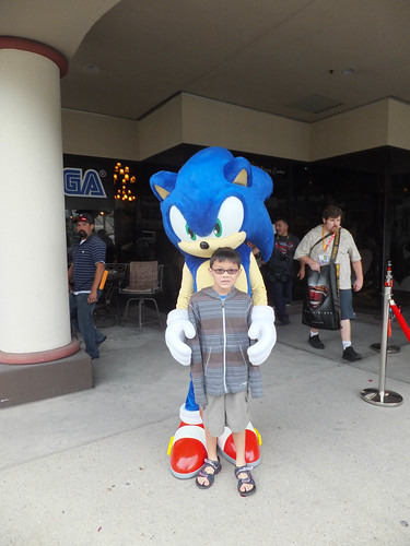 Sonic the hedgehog & Josh
