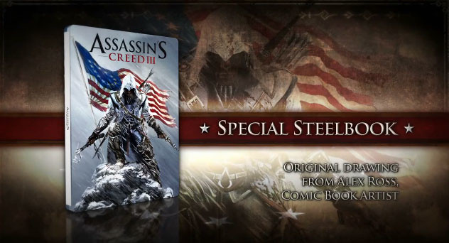 Assassin's Creed III Freedom Edition Unboxing Video
