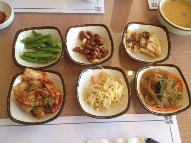 Assorted Korean Side Dishes