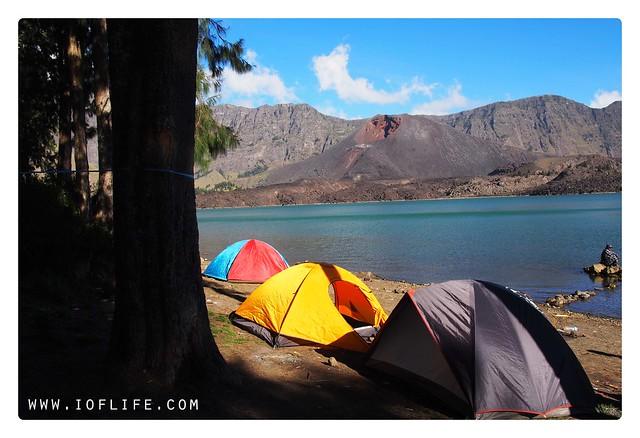 tenda danau segaranak