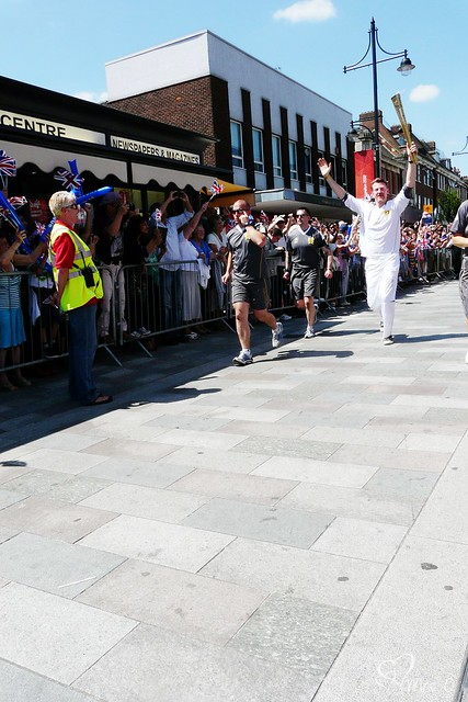 Olympic Torch Relay, Romford