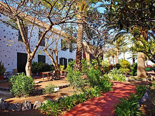 Gardens at Parador, La Gomera