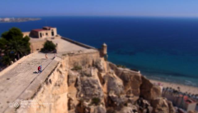 Hola Alicante~ 阿利坎特。地中海的熱度 Castillo de Santa Barbara 聖巴巴拉城   R1043678