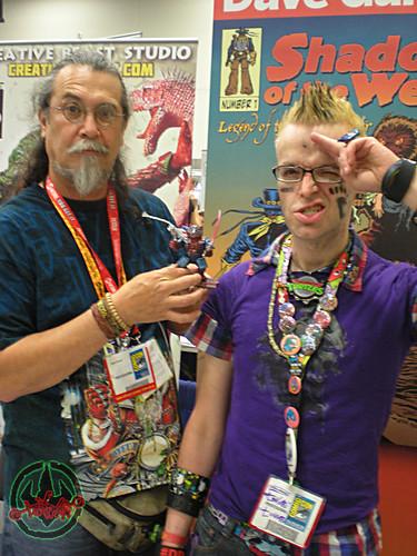 San Diego Comic-Con 2012; DAVE GARCIA, Tokka & 'MAZIN SPIDER-KHAN