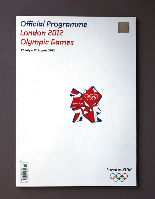 2012 Olympics Programme cover14