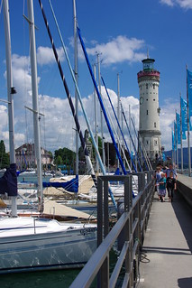 Lindau's lighthouse