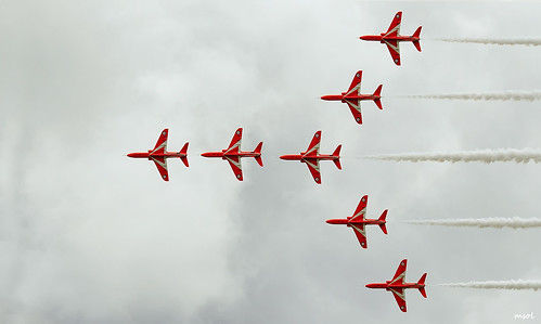 Red Arrows RIAT 2012