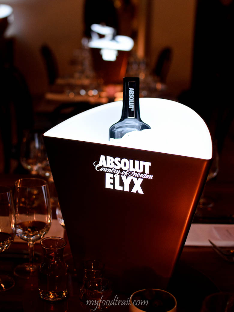 Absolut Elyx Launch - Ice bucket