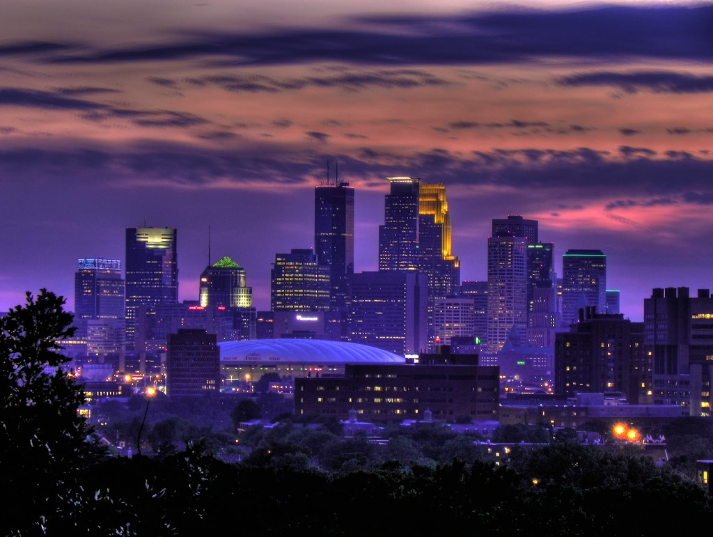 Purple heat - Minneapolis, MN