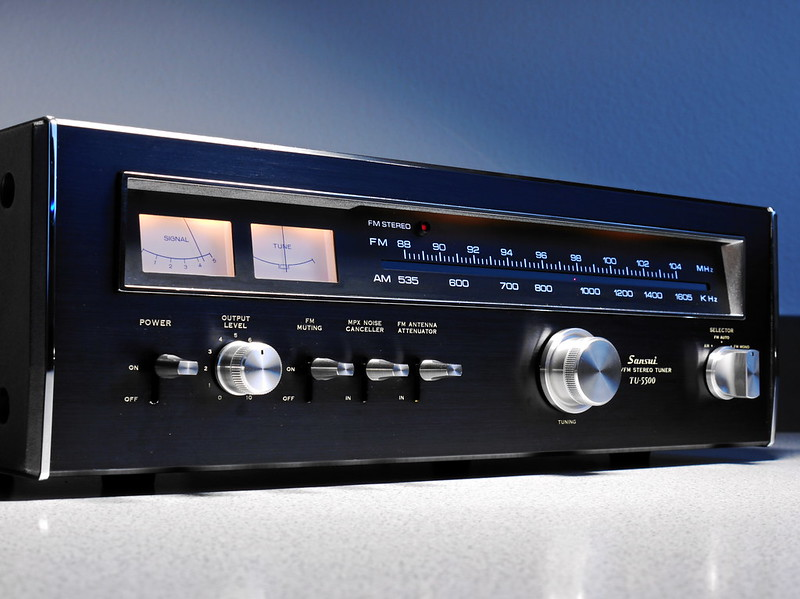 Sansui TU 5500 Stereo Tuner