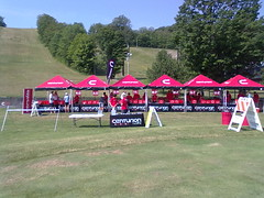 Registration tents