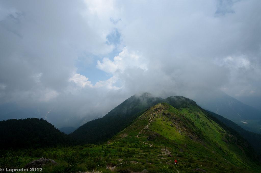 20120730 焼岳展望台