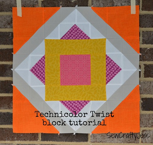 Technicolor Twist block