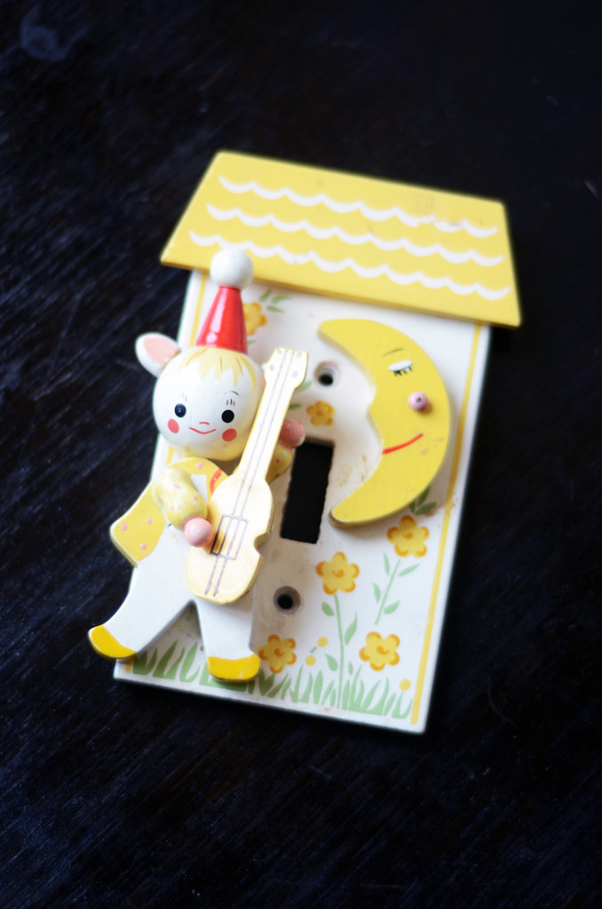 Vintage Children's Switch Plate