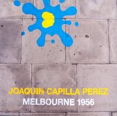 London 2012 pavement art
