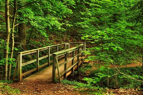 footbridge pa hdr photomatix evansburg