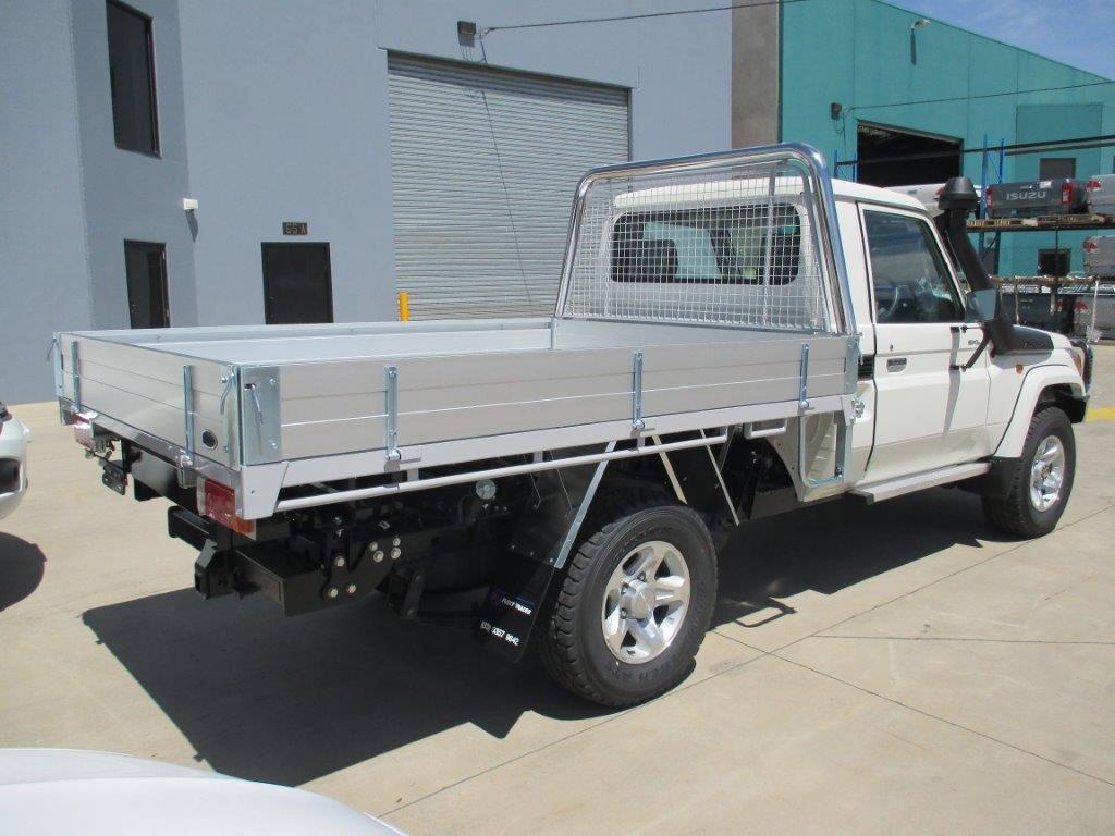 Landcruiser Aluminium Trays