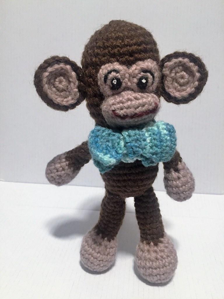Monkey Crochet Pattern, Amigurumi Monkey, Amigurumi Animal, CP-113 ...   1024x768