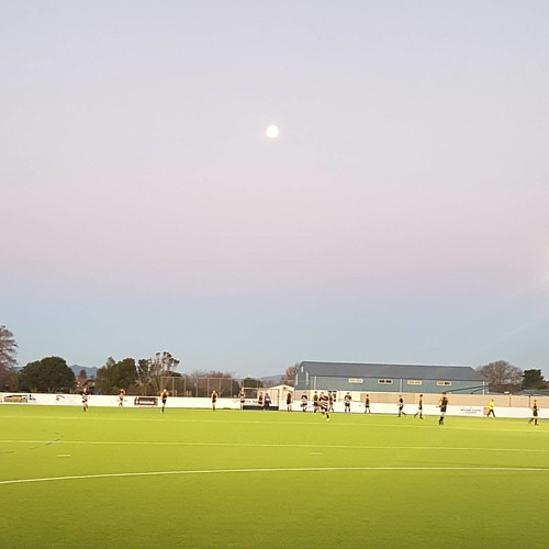 Moonlit hockey #winter #hockey #moon