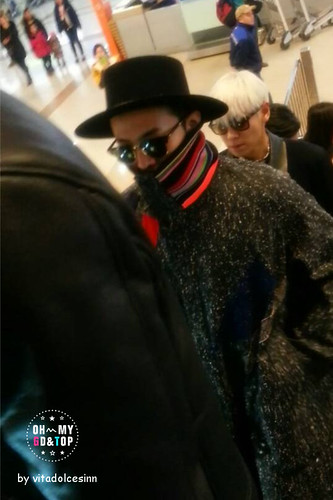 Big Bang - Gimpo Airport - 15jan2015 - G-Dragon - OHMYTG_OFFICIAL - 01